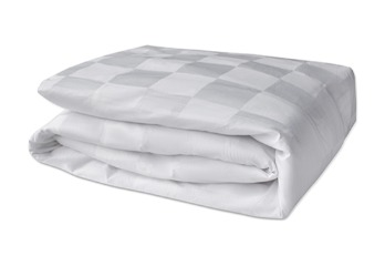 Duvet Cover TC-300 Square 9cm White
