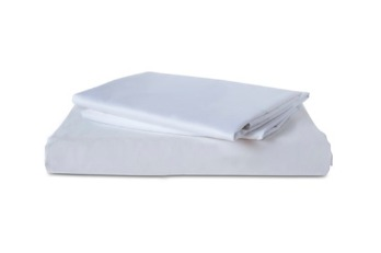 Flat Sheet TC-300 Plain White | 100% Cotton, Plain, TC-300, Single, Double, Twin, Queen, King, Extra King