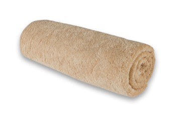 Medium Towel Plain Camel
