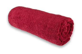 Medium Towel Plain Maroon