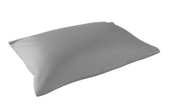 2x Pillow Case TC-180 Light Grey