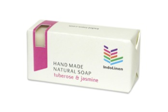 Soap Bar Tuberose & Jasmine Paper Box