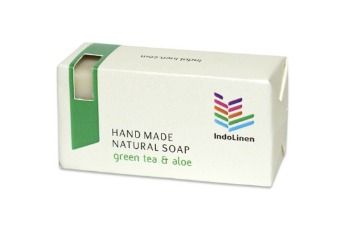 Soap Bar Green Tea & Aloe Paper Box