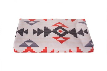 Bed Runner Native African Pattern