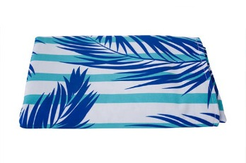 Bed Runner Tropical Jungle Floral