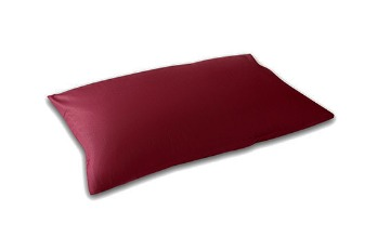 Pillow Case Standard Small TC-180 Maroon (2 pieces)