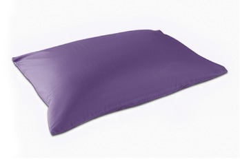 Pillow case Standard Large TC-180 Purple (2 pieces)