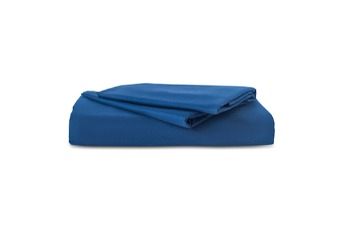 Flat Sheet TC-180 Plain Dark Blue