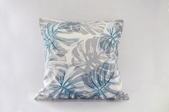 Cushion Cover Monstera Handrawn