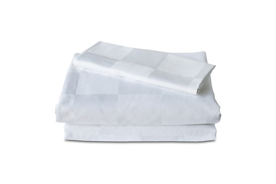 Fitted Sheet TC-300 Square 9cm White