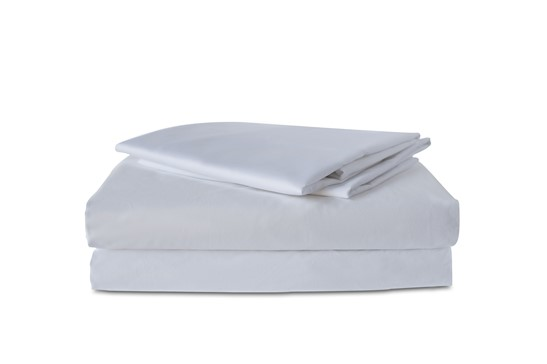 Fitted Sheet TC-300 Plain White  | 100% Cotton, Plain, TC-300, Single, Double, Twin, Queen, King, Extra King