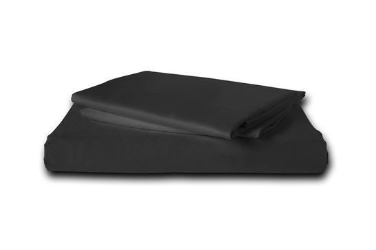 Flat Sheet TC-180 Plain Black