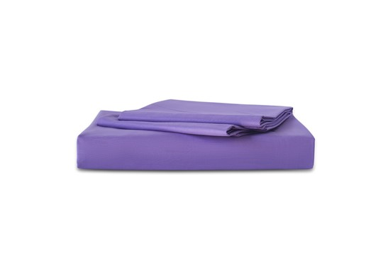 Flat Sheet TC-180 Plain Purple