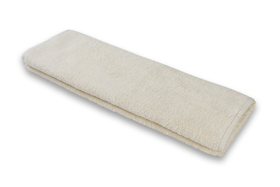 Hand Towel Plain Ivory | 100% Cotton, Plain