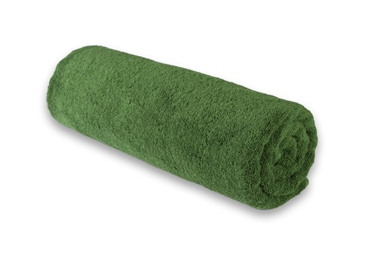 Medium Towel Plain Green